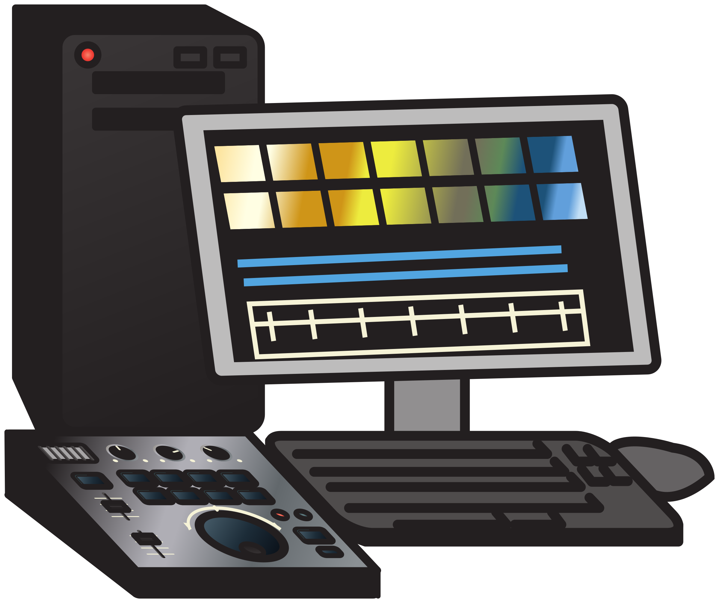 Non-linear video editing system 2